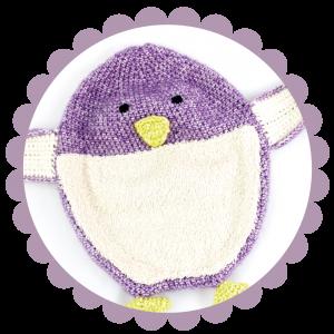 Häkelanleitung Schnuffeltuch - Pippa der Pinguin