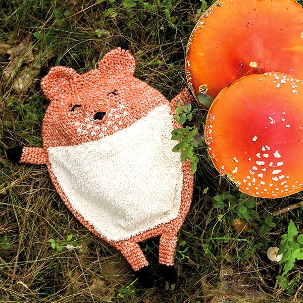 Schnuffeltuch Fuchs