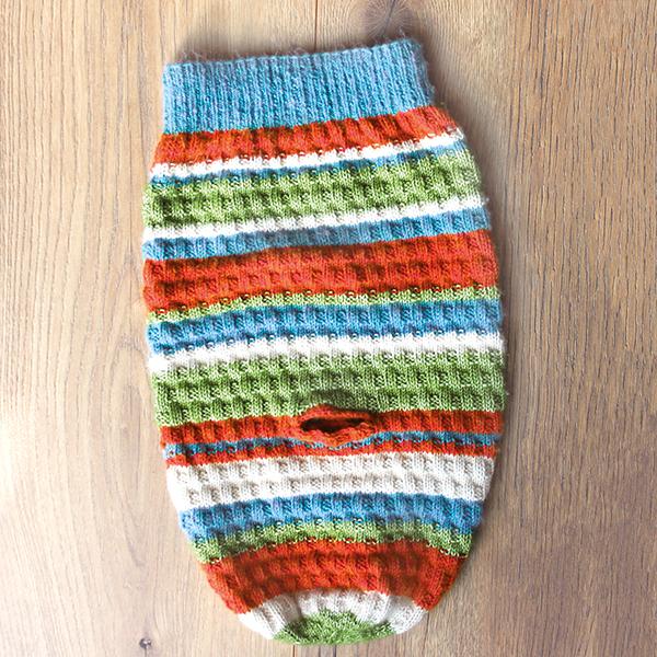 Pucksack/Schlafsack für Neugeborene und Babys - totalwollig