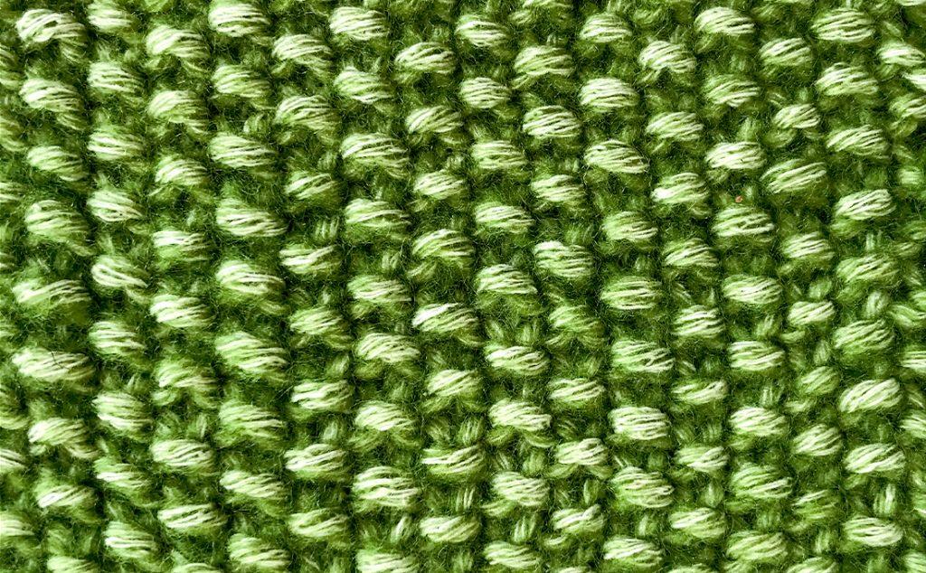 perlmuster für Strickkleider