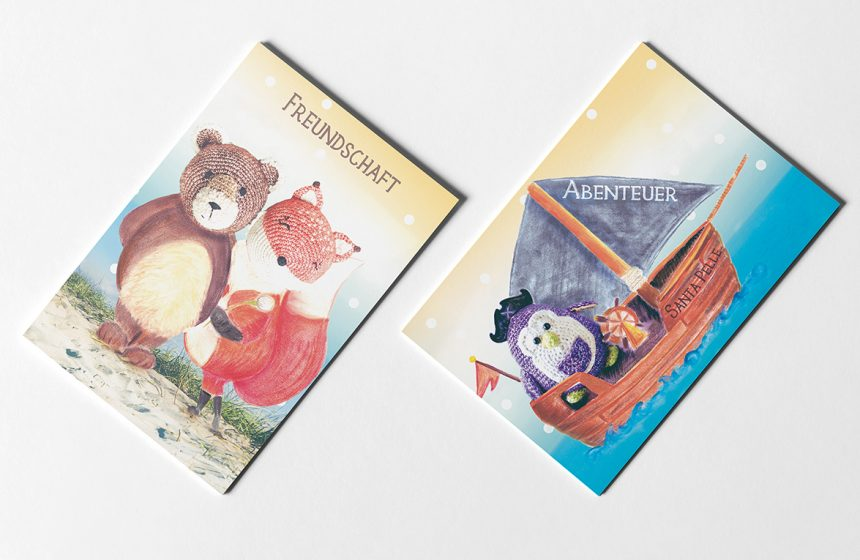 Postkartenset Kinderträume