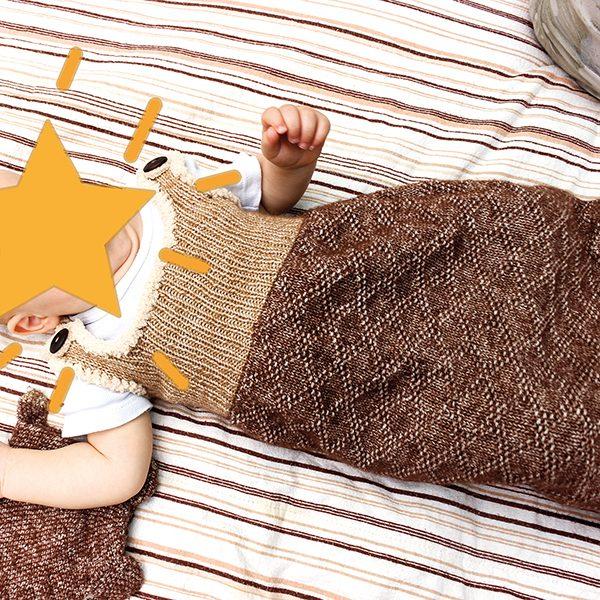 Schlafsack Bär