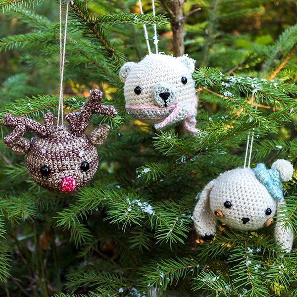 Tierkugel Set Polartiere