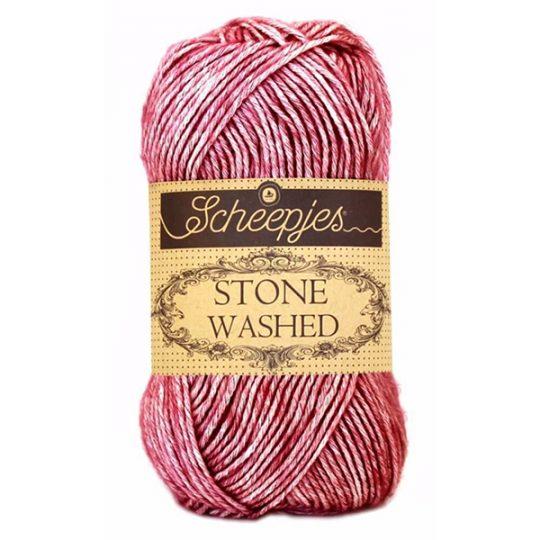 Scheepjes Stonewashed Corundum Ruby