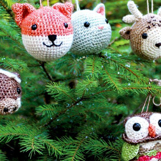 Tier Weihnachtskugeln