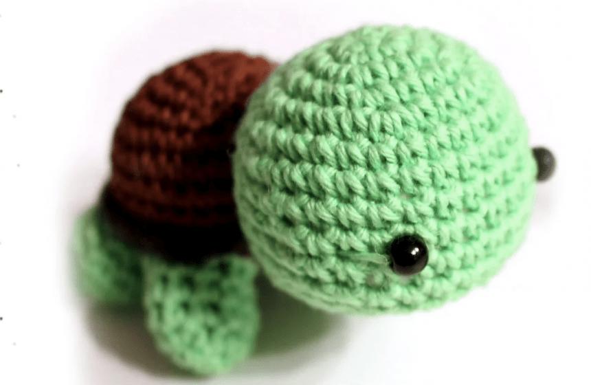 Schildkröten häkeln – Pfirsichteufels kostenlose Anleitung