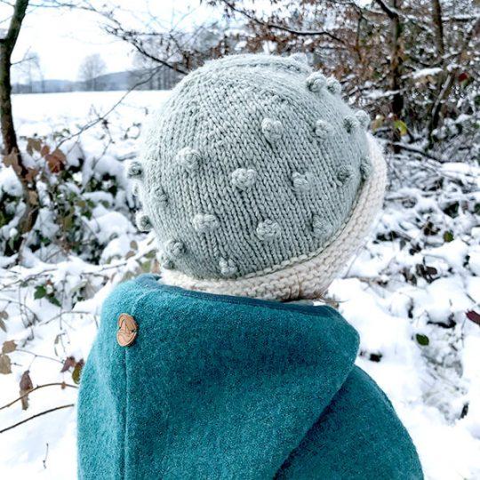 Kindermütze stricken für den Winter