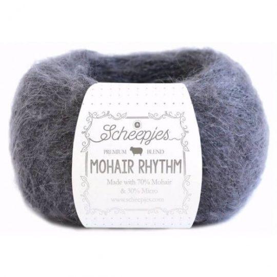 685-hiphop-mohair flauschige natürliche Wolle